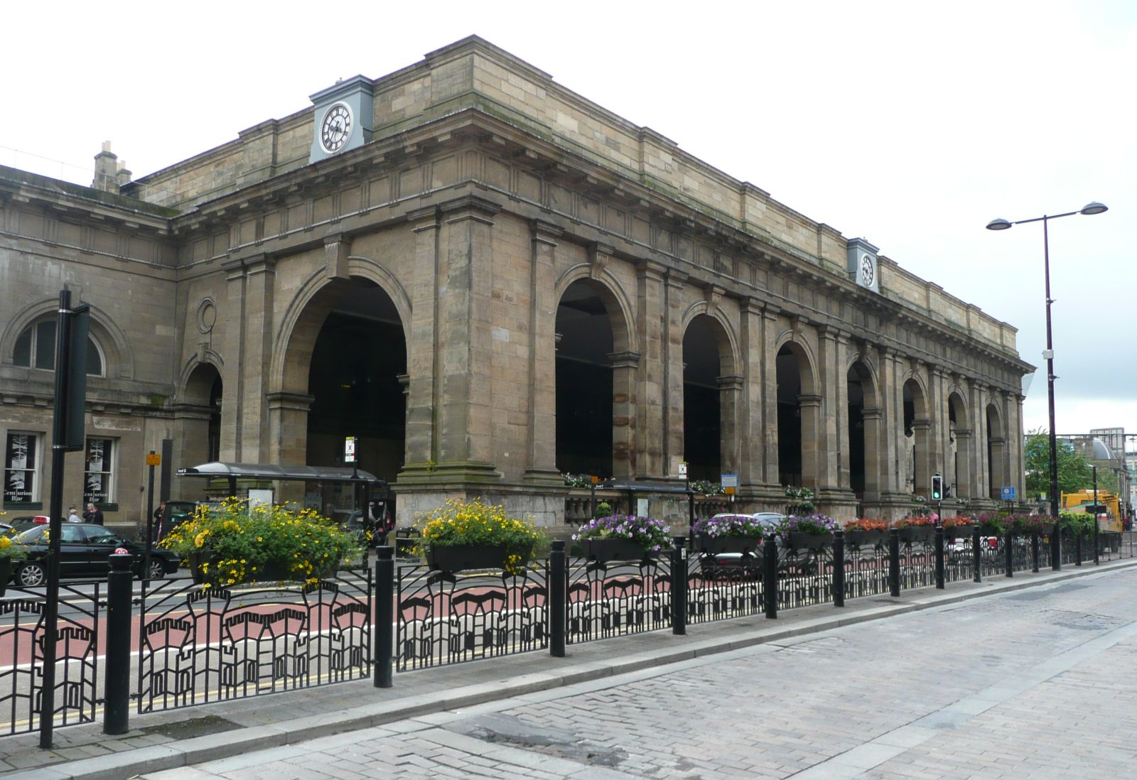 Photograph of Newcastle Central Station
