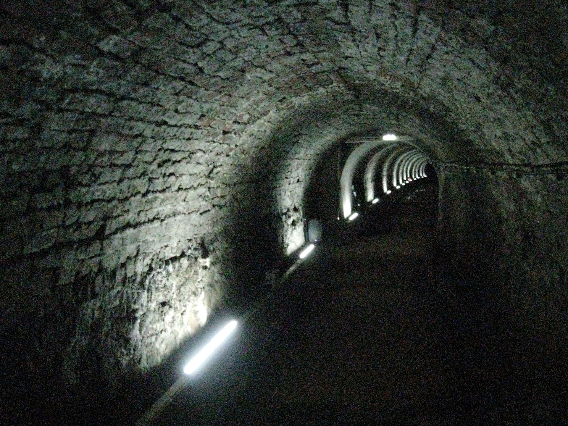Photograph of Victoria Tunnel